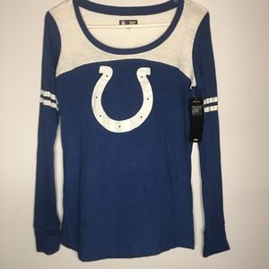 NFL Colts Women's Long Sleeve T-Shirt Small NWT
